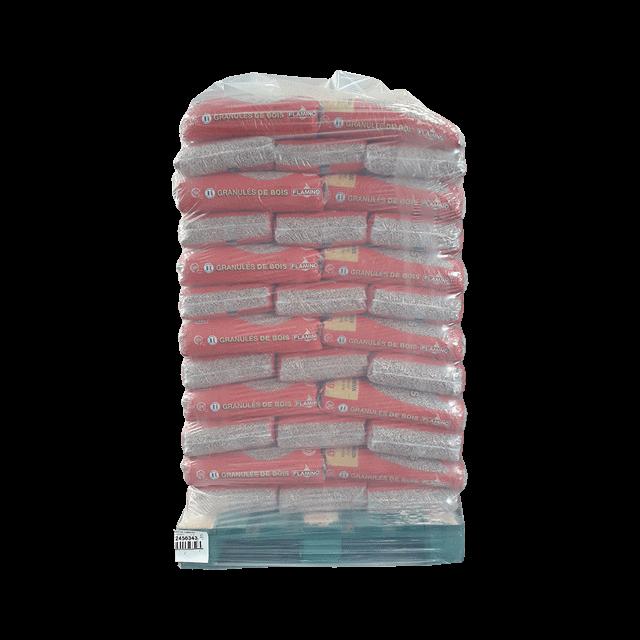 Palette Granules de bois FLAMINO 15KG
