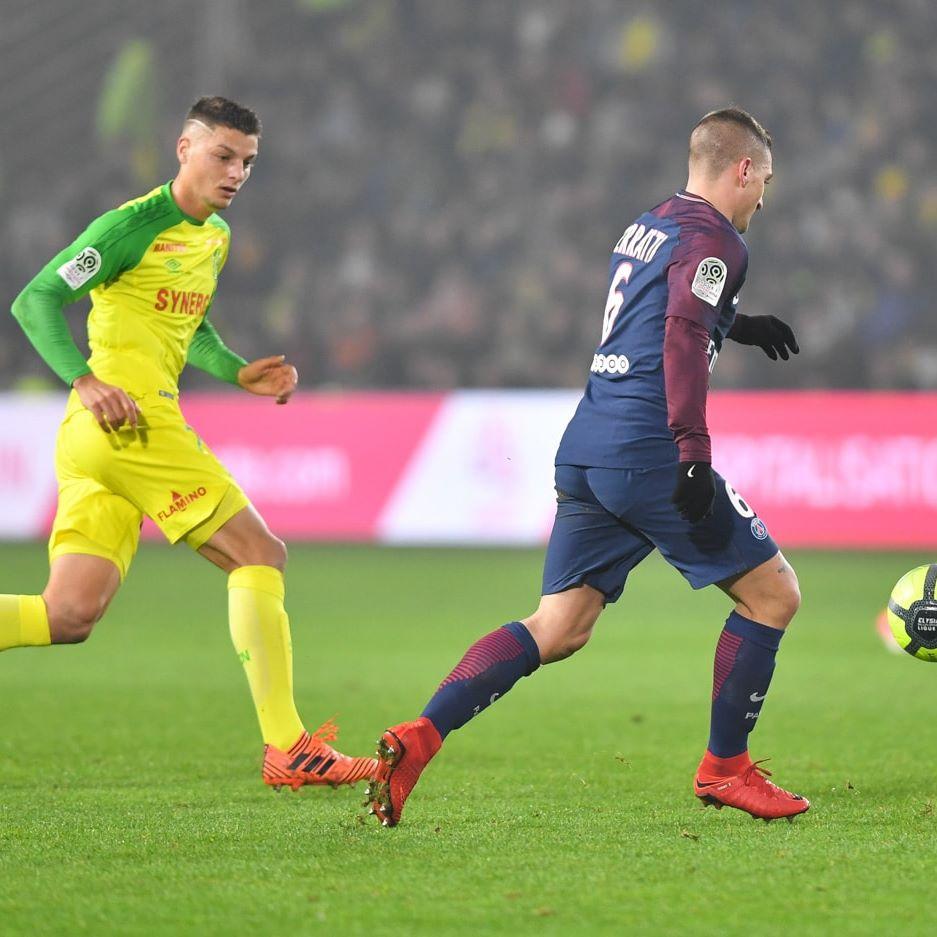 Flamino present lors du match FC Nantes – PSG